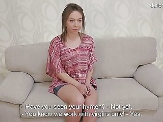 cute russian virgin manya akulova shows her never fucked pussy