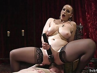 Divine whore sodomy fucks male slave